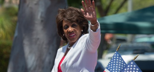 Maxine Waters at the 54th Annual Torrance Armed Forces Day Parade
