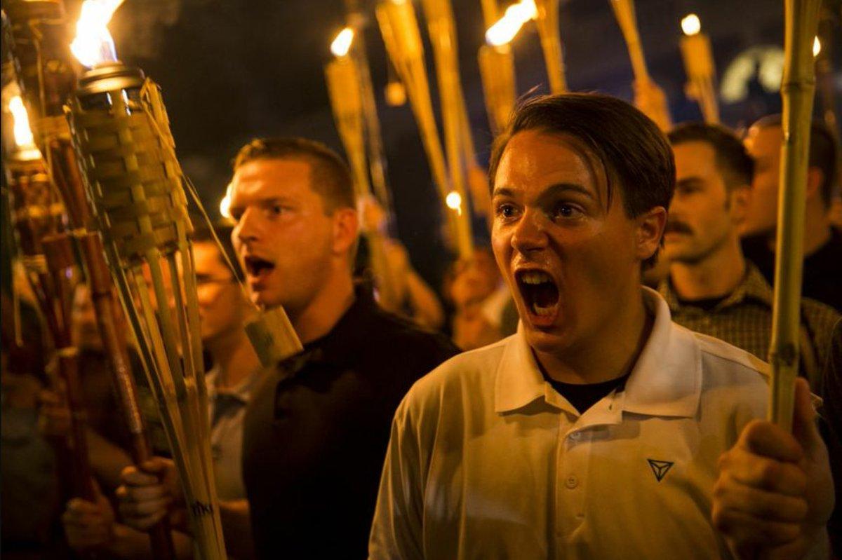 Charlottesville Racist KKK