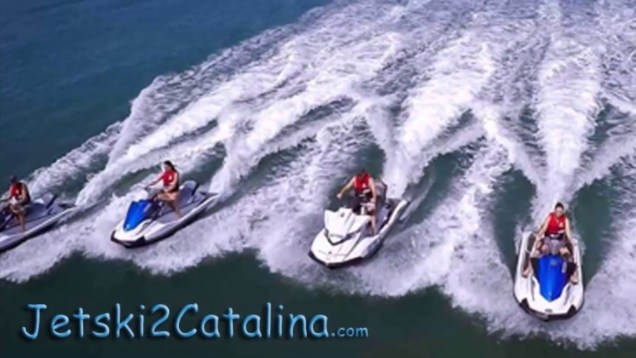 Jetski To Catalina Island