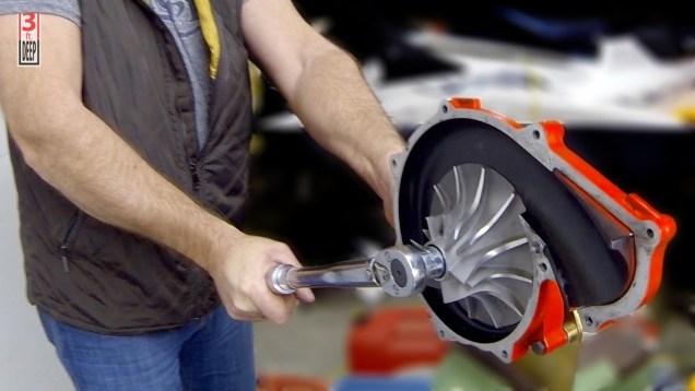 How to Rebuild a 4-TEC Jet Ski Supercharger (on a 2005 Sea-Doo GTX 185)