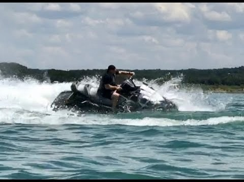 2017 Yamaha Waverunner FX Cruiser SVHO first ride after break in.