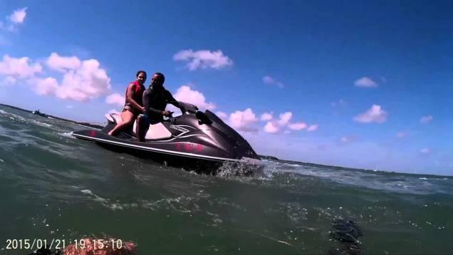 Jet Ski ride to Picnic island Big Pine Keys