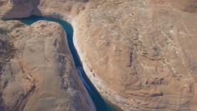 Jet Ski Slot Canyon Aerial View Lake Powell (Arizona | Utah | USA) Drone w/ Sea-Doo & DJI  HD