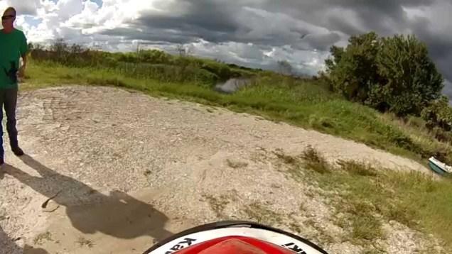 JetSki Berm Jump – Cockpit View
