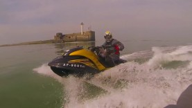 Jetski to France from England across The English Channel