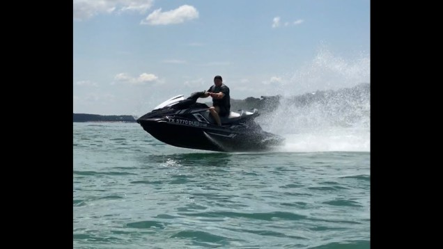 June 2015 Riding Jetski with friends at Canyon Lake Texas and Gulf Coast Texas.