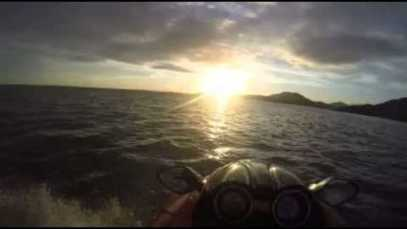 Portmeirion to Porthmadog after evening fishing
