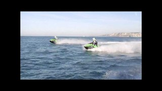 JET SKIING ACROSS ENGLISH CHANNEL