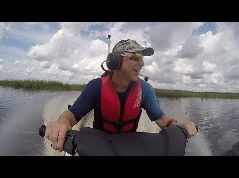 Florida Jet skiing – looks like a video game