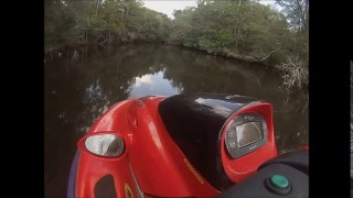 Jetski on Perdido River