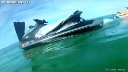 Wild Jet Ski Accident and Rescue!