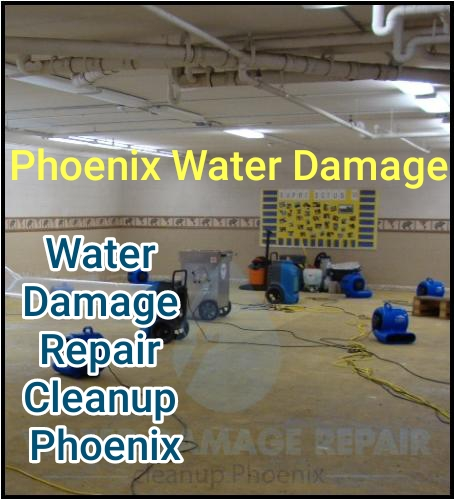water damage repair cleanupphoenix