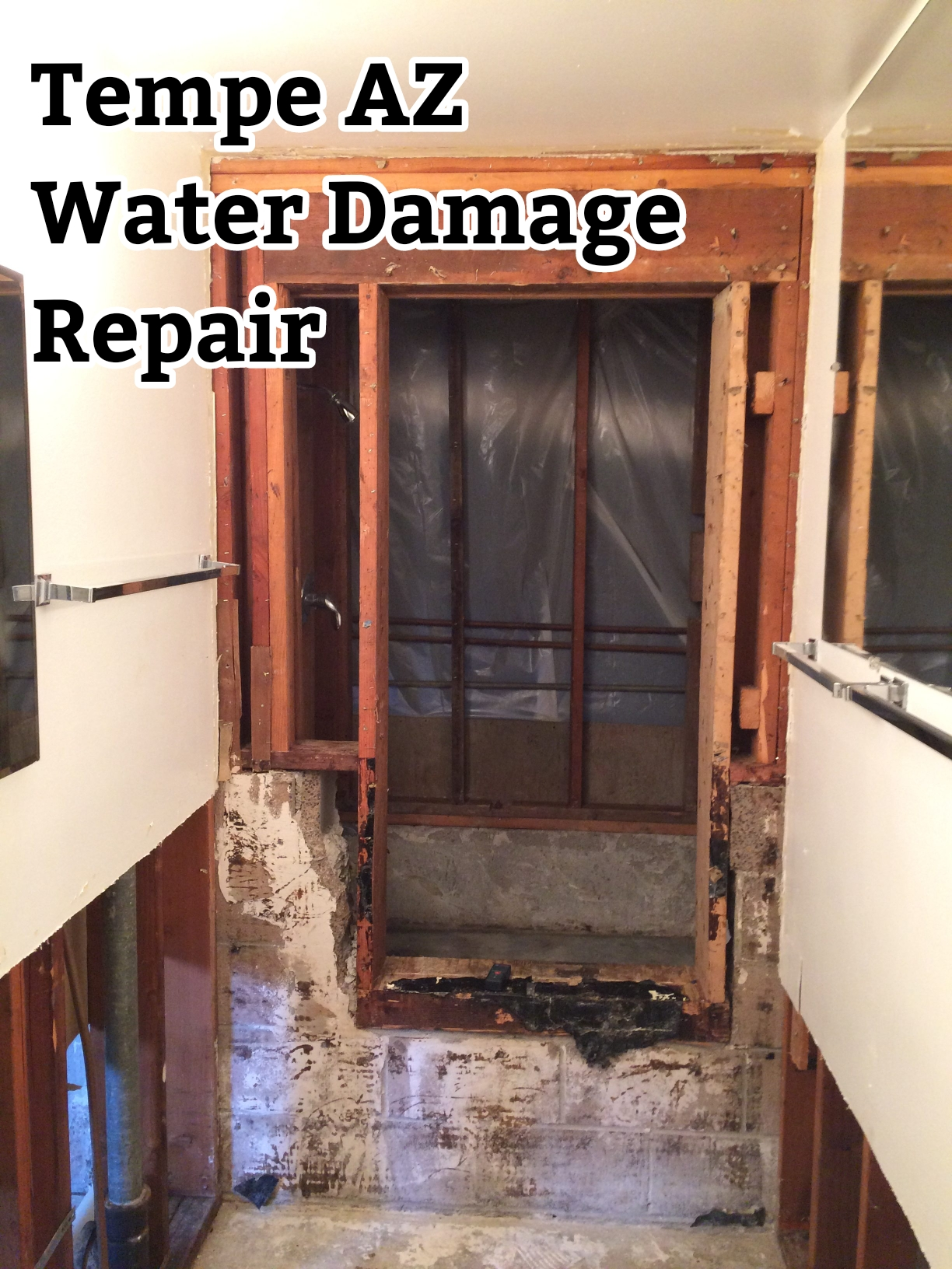 Tempe AZ Water Damage Repair