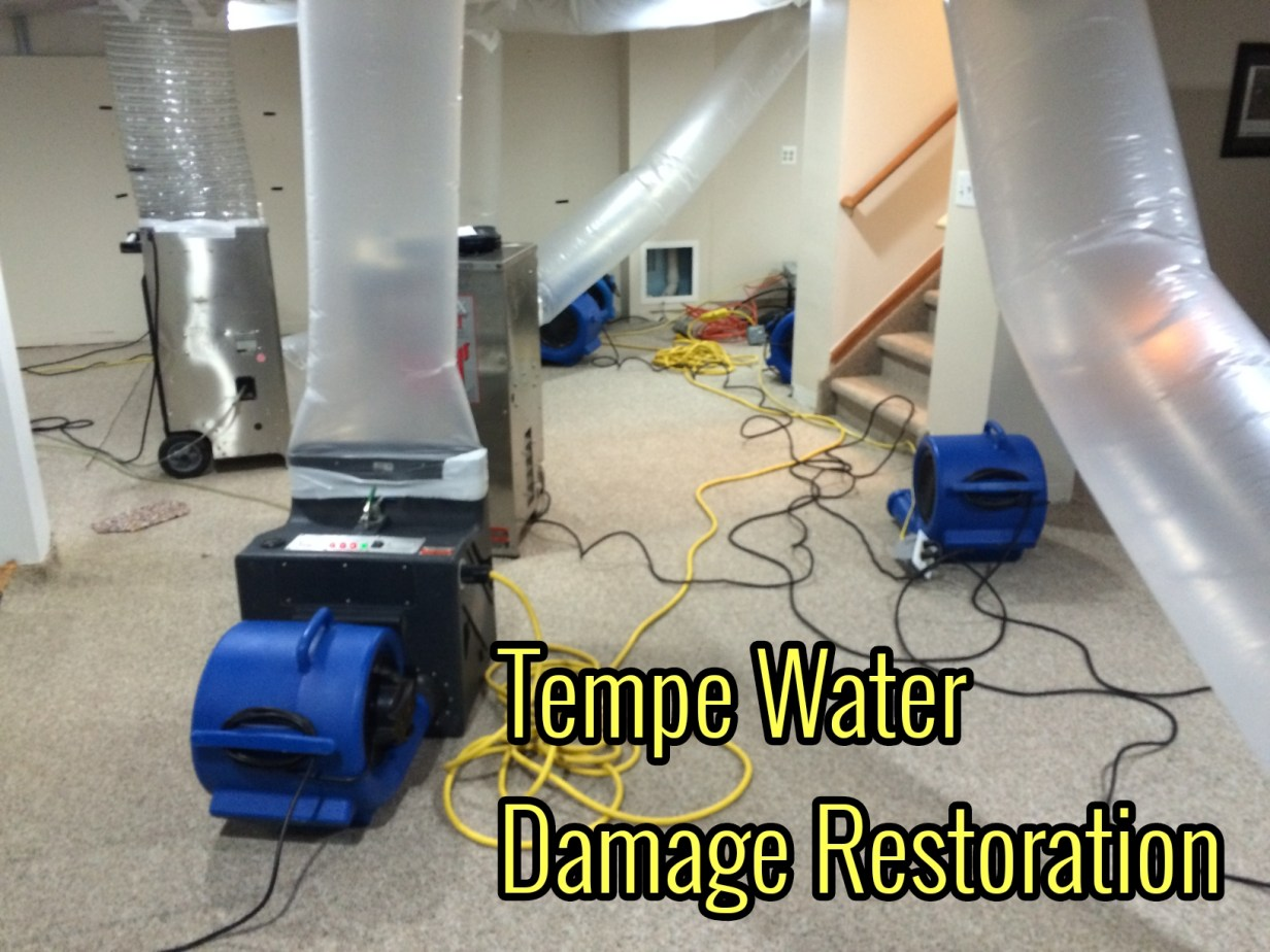Tempe water damage restoration