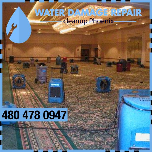 water damage phoenix AZ Commercial Restoration Company 322