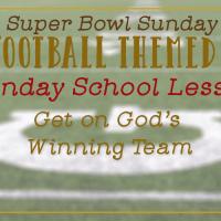 Super Soul Bowl Sunday School Idea