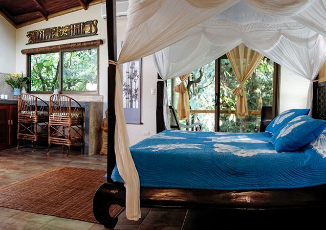 The Butterfly Suite Deluxe Villa in Waterfall Villas Costa Rica
