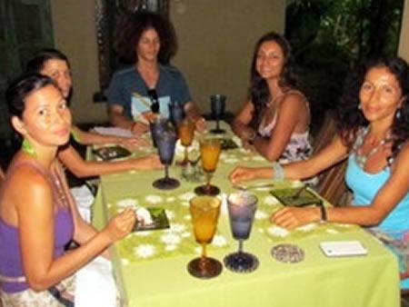 waterfall villas detox meals