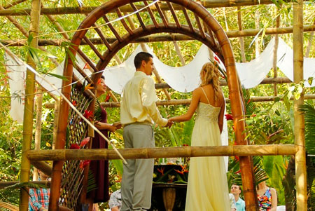 Wedding Ceremony in Costa Rica
