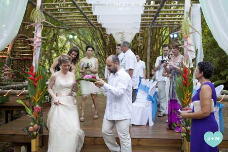 Costa Rica Group Wedding