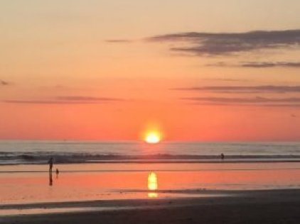Dominical Beach sunset