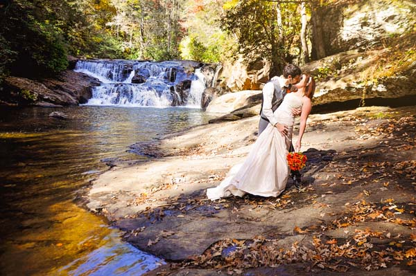 Cheap Elopement Packages at Waterfall Weddings