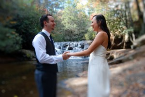 Cheap Elopement Packages at Waterfalls