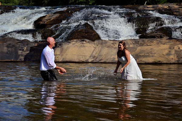 How to plan your waterfall wedding image
