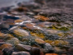 water, stream, pebbles 10 (widget)