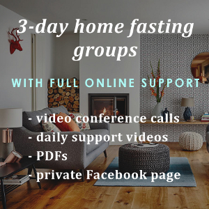 3-day home fasting group (square WIDGET)