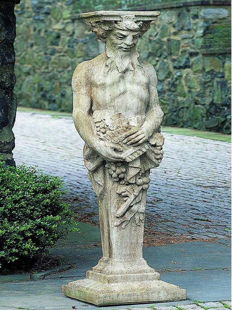 Tall Satyr Garden Statue