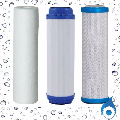 10 inch PP+GAC+CTO Filter Cartridge Australia