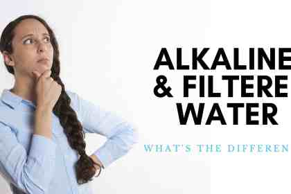 whats the differnece between filtered water and alkaline water