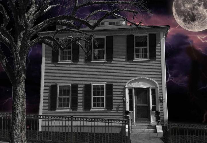 Spooky Mumford House