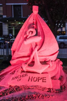 2017-09-30 Flames of Hope Full Lighting (Photograph by Laura Paton) 4