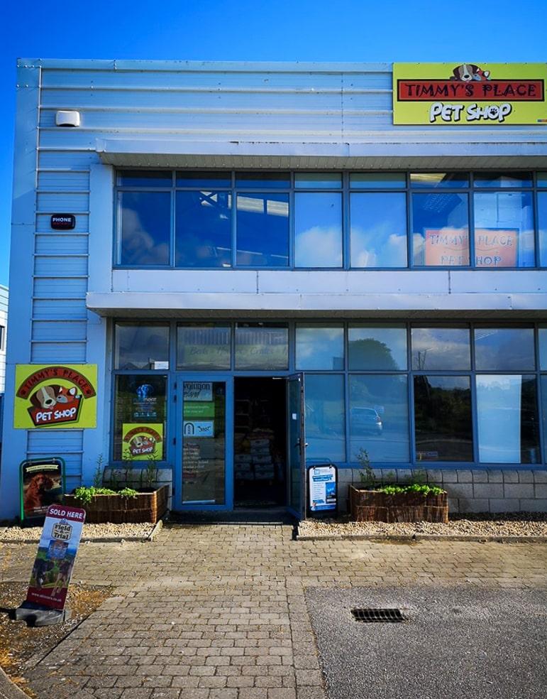 Place Timmys Place Pet Shop Exterior