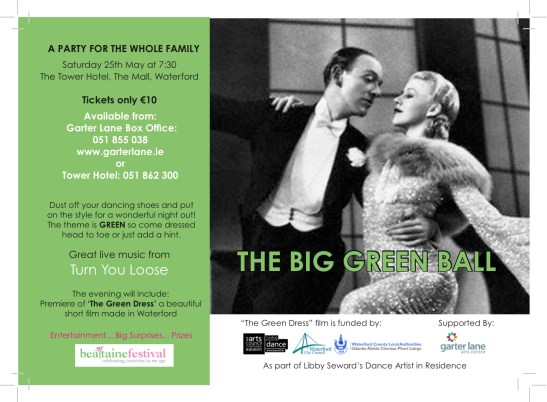 The Big Green Ball Flyer