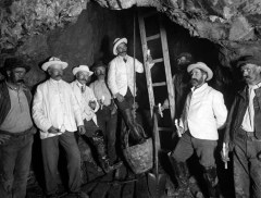 Mining at the Bonmahon Mines in the early 1900s