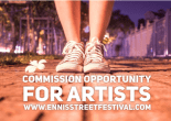 ennis street art commission