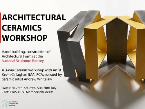 architechtural ceramics workshop