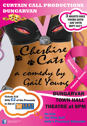 CHESHIRE CATS A4 OFFICAL POSTER
