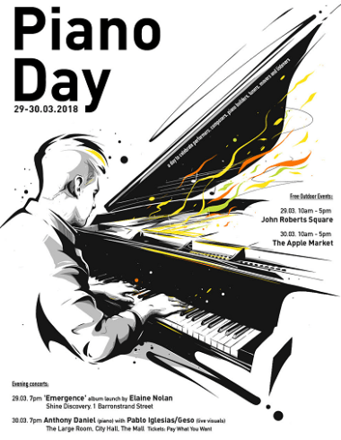 Piano Day 2018 poster