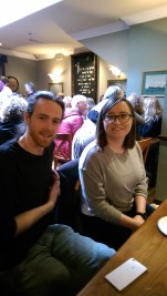 Keith Currams and Amanda O'Dwyer