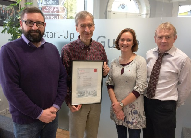 Morris Conway, Rupert Maddock, Ali Jay, Billy Duggan Economic Development Department Waterford City and County Council