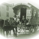 Picture of an Irish Traveler Wagon