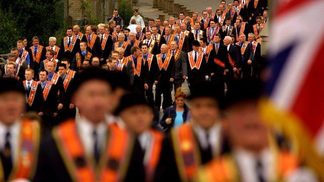 The Untold History Of The Orange Order Parades Waterford