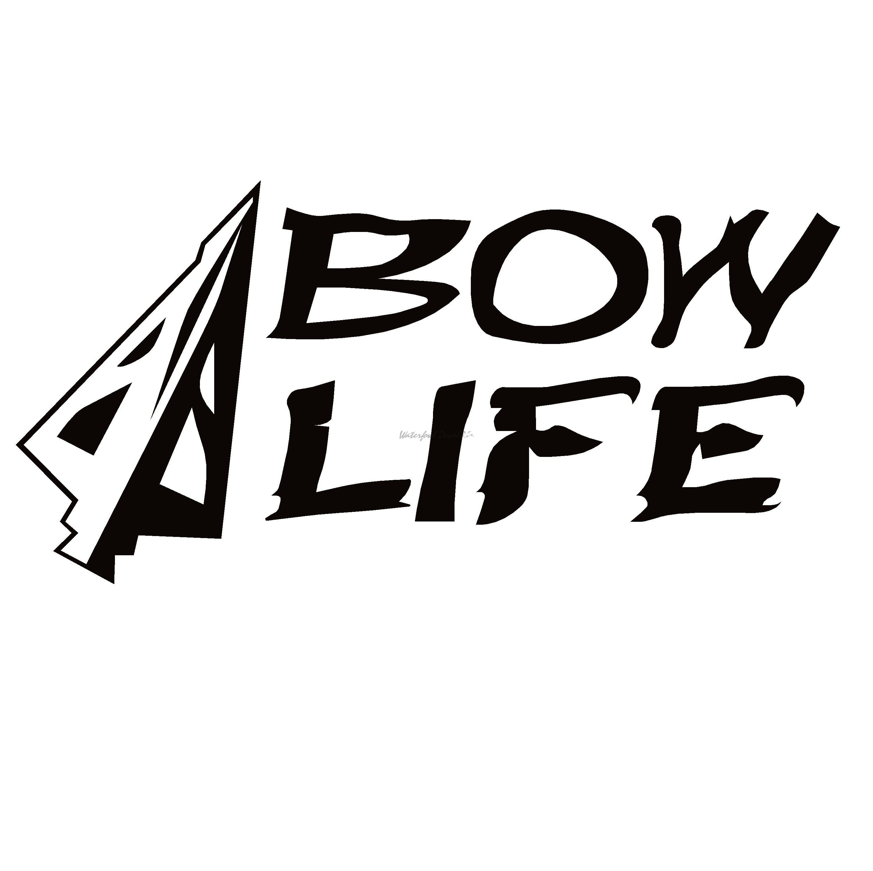 Bow Life Decal Bowhunting Decal Sticker