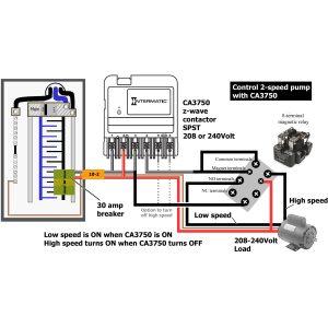 graceful ca3750 wiring 208 240 spst 2 speed 14 2 wire 3 way switch 14 2