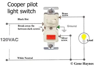 How To Wire Single Pole Light Switch with Pilot Light   Terry Love Plumbing & Remodel DIY