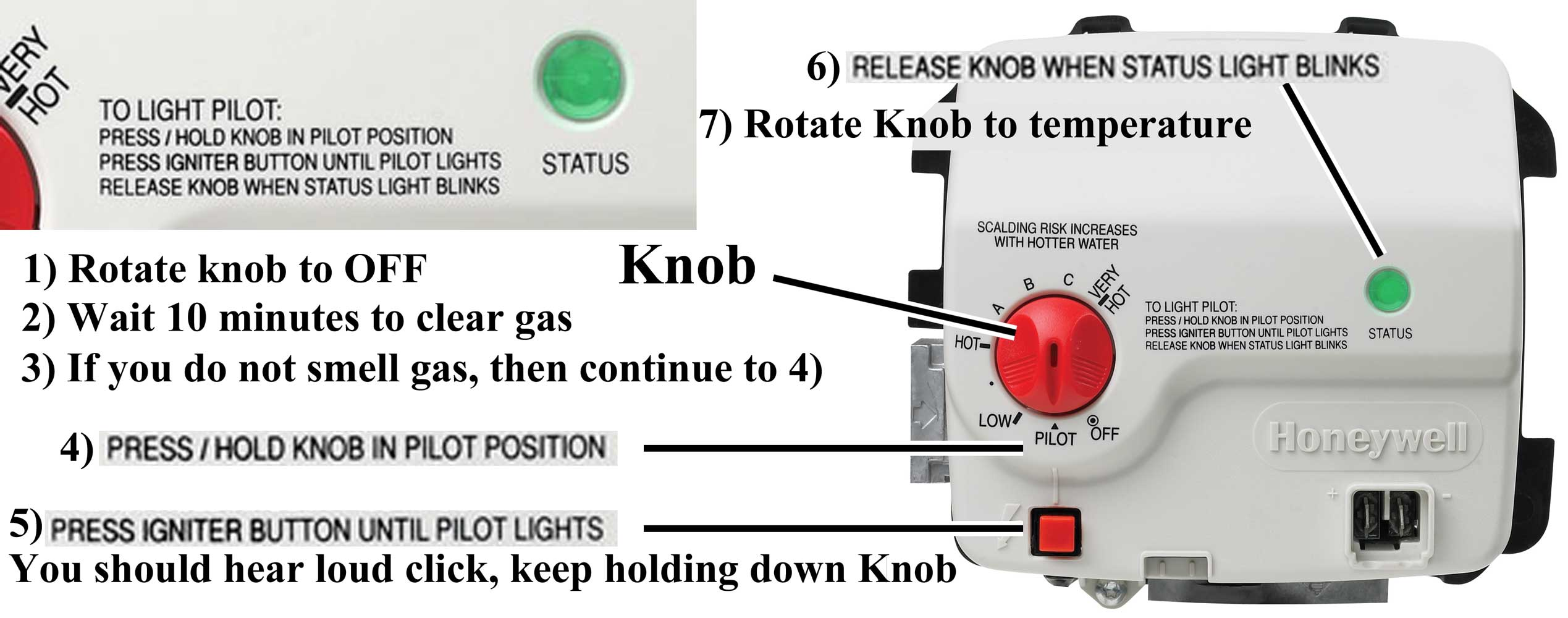 Kenmore Power Miser 6 Pilot Light Goes Out